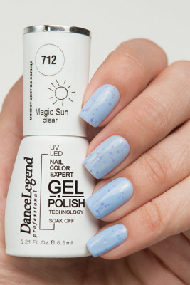 Gel Polish Effect №712 Clear