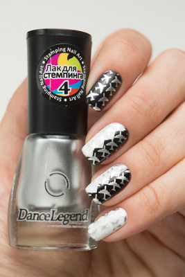 Stamping - №04 Silver