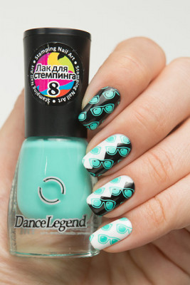 Stamping - №08 Mint