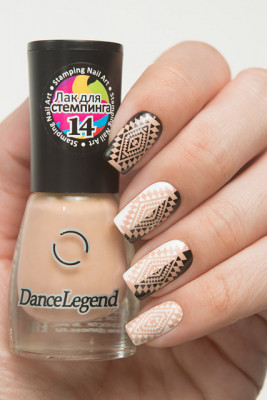 Stamping - №14 Beige