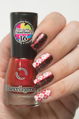 Stamping - №16 Metalic Red