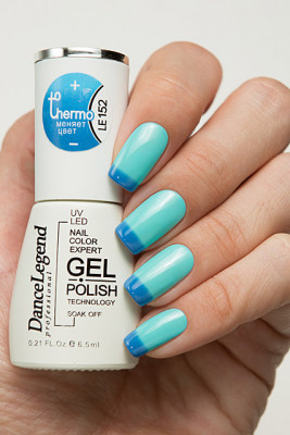 Гель-лак Thermo Gel - LE152 Out of the Blue