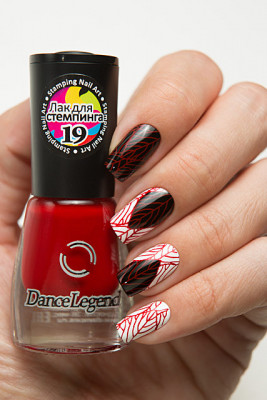 Stamping - №19 Raspberry Red