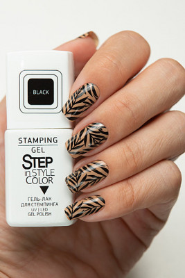 Step In Style Stamping Gel - Black